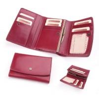 Бумажник женский из итальянской кожи POJI