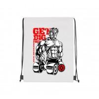 Рюкзак-мешок принт Get big