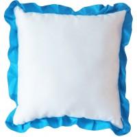 Подушка с рюшей