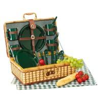 Бамбуковая корзина для пикника GREEN PARK