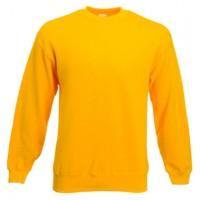 Классический свитер SET-IN SWEAT желтый