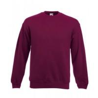 Классический свитер SET-IN SWEAT бордовый