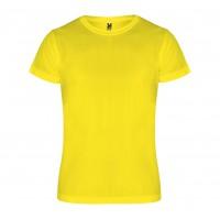 Детская спортивная футболка Camimera желтая